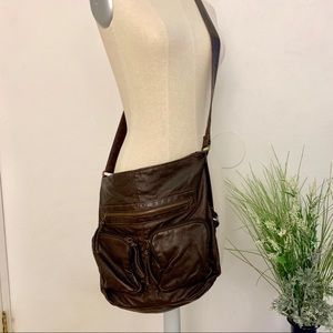 Handbags - Brown crossbody bag/purse